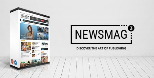 Nulled Newsmag v3.2 - News Magazine Newspaper