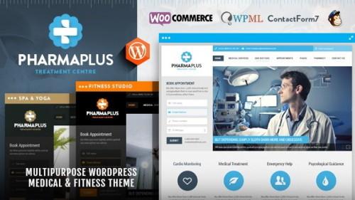 Nulled PharmaPlus v1.6 - Medical & Fitness Theme - WordPress pic