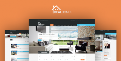 Nulled Real Homes v2.6.2 - Themeforest WordPress Real Estate Theme