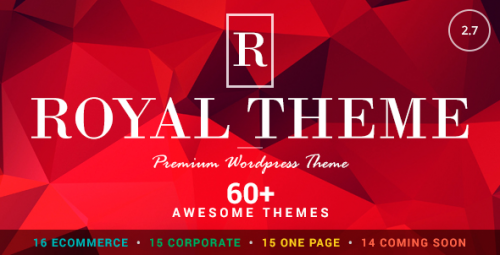 Nulled Royal v2.9 - Multi-Purpose WordPress Theme product image