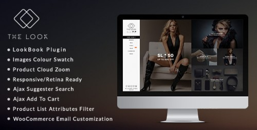 Nulled The Look v1.5.9 - Clean, Responsive WooCommerce Theme picture