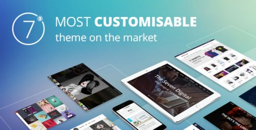Nulled The7 v4.1.0 - Responsive Multi-Purpose WordPress Theme picture