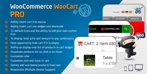 Nulled WooCommerce Cart - WooCart Pro v2.3.0 - WordPress Plugin product photo