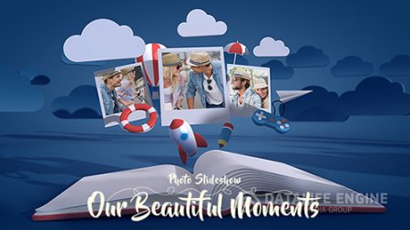 Photo Gallery Slideshow Our Beautiful Moments - Project for After Effects (Videohive)