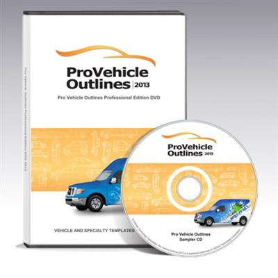 Pro Vehicle Outlines 2013 $449.00 - Professional Edition