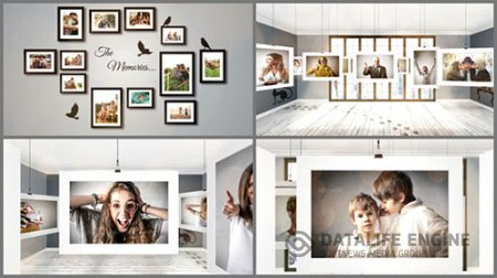 Room Photo Gallery - Project for After Effects (Videohive)