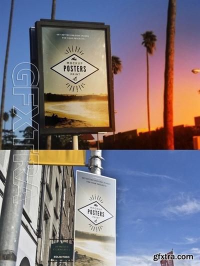 Street Poster Urban Indie Mock-Up