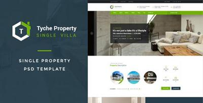 Tyche Properties : Single Property PSD Template 16382389