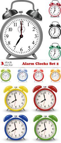 Vectors - Alarm Clocks Set 2