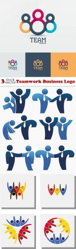 Vectors -- Teamwork Business Logo