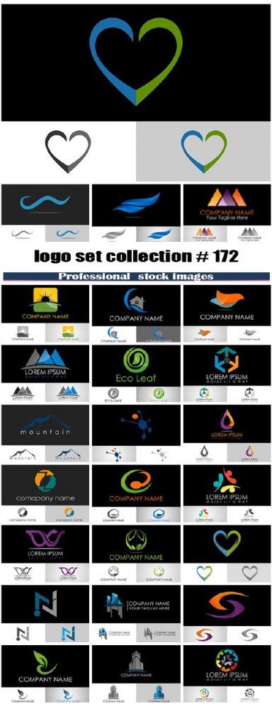 logo set collection # 172