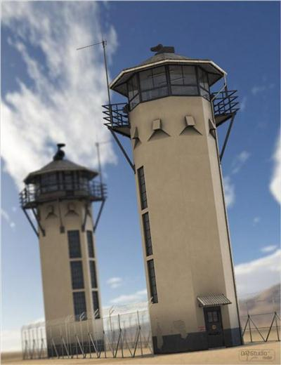 DAZ3D - Poser Prison Bundle + Prison Death Chamber