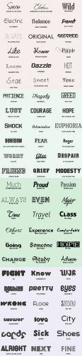72 Fonts Pack (TTF/OTF)