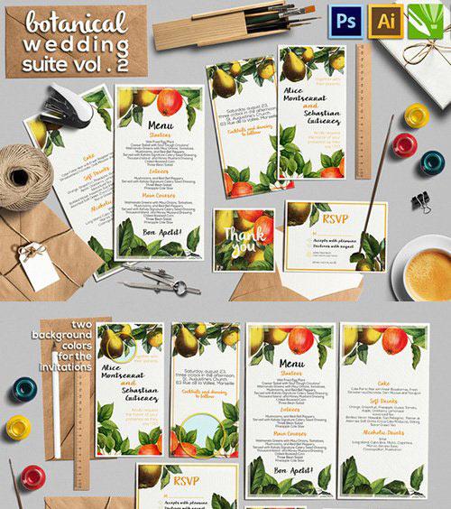 Botanical Wedding Suite Vol.2