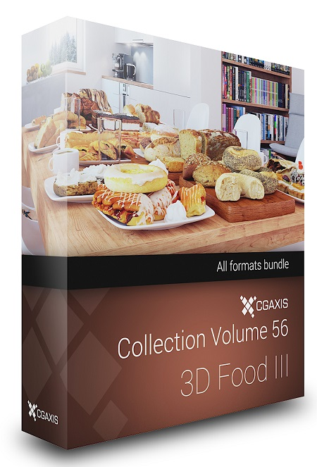 CGAxis Collection Volume 56 - 3D Food III