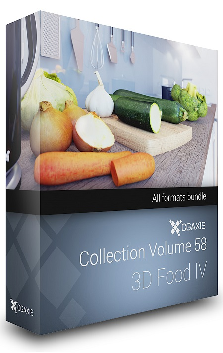 CGAxis Models Volume 58 - Food IV