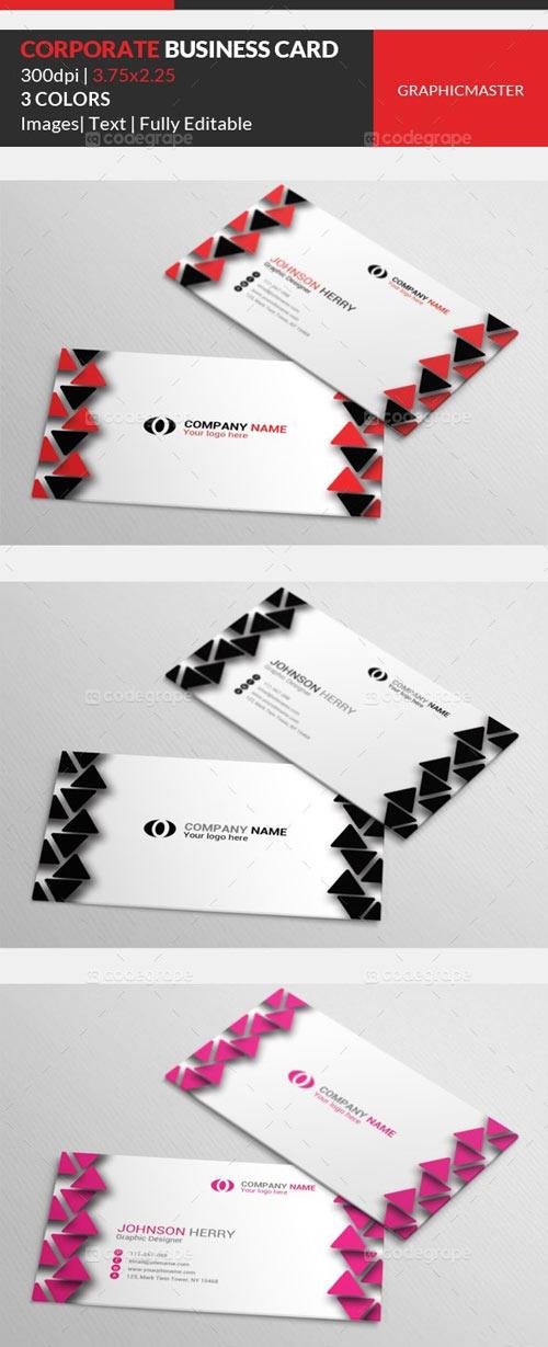 Corporate Business Card 1