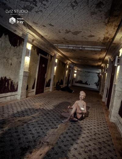 DAZ3D - Hotel Hallway