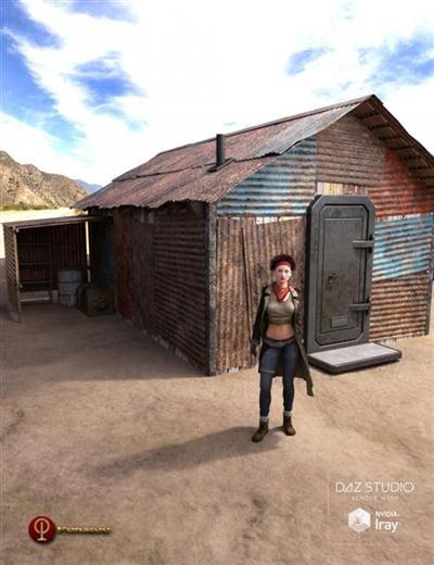 DAZ3D - Post Apocalyptic Shelter