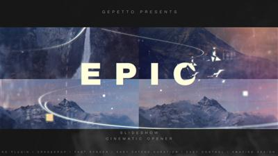Epic Slideshow I Cinematic Opener - Project for After Effects (Videohive)
