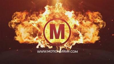 Fast Fire Logo - After Effects Template