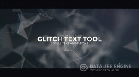 Glitch Text Tool - Project for After Effects (Videohive)