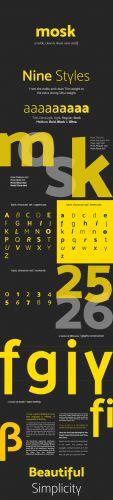 Mosk Typeface TTF