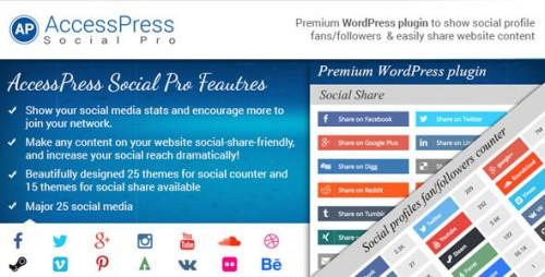 Nulled AccessPress Social Pro v1.3.1 - WordPress Plugin program
