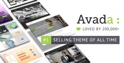 Nulled Avada v5.0.4 - Responsive Multi-Purpose Theme Product visual