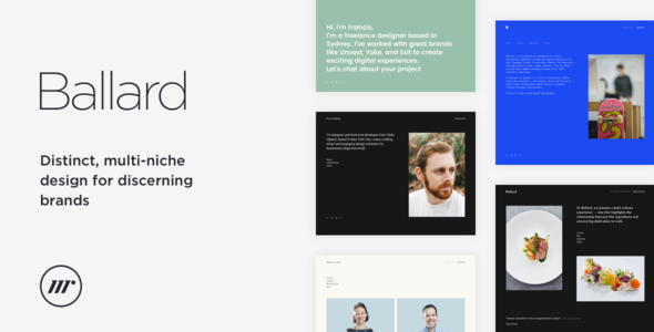 nulled ballard  u2013 personal cv  agency  law  u0026 restaurant html template