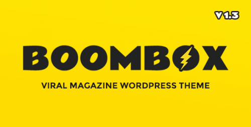 Nulled BoomBox v1.3.9 - Viral & Buzz WordPress Theme product photo