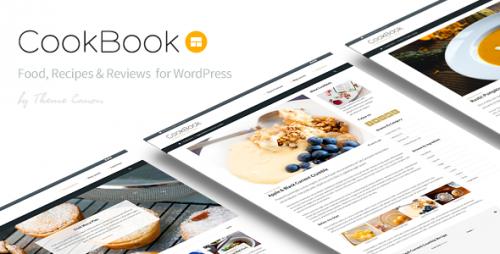 Nulled CookBook v1.9 - Food Magazine Blog cover