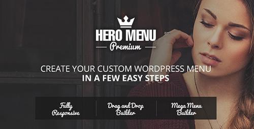 Nulled Hero Menu v1.9.0 - Responsive WordPress Mega Menu Plugin