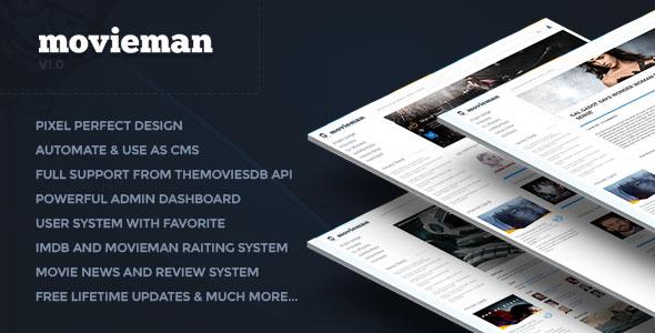 Movieman - Premium Movies, TV Shows & News CMS