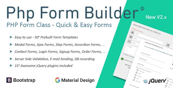 PHP Form Builder v2.0.3