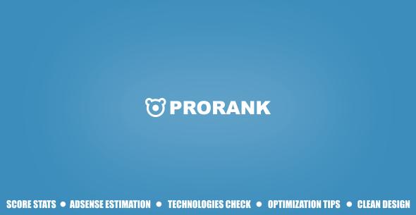 ProRank v1.0.2 - Analyzer stats website