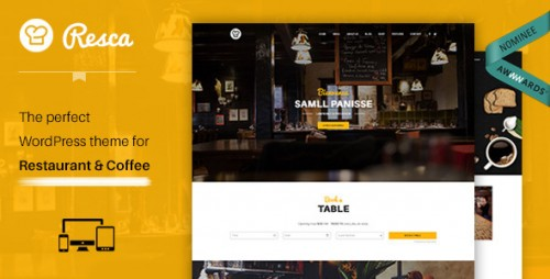 Nulled Resca v2.0.8 - WordPress Restaurant Theme