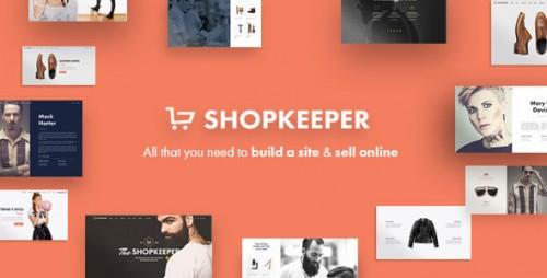 Nulled Shopkeeper v1.7.2 - Responsive WordPress Theme product photo