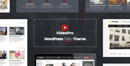 Nulled VideoPro v1.3.1 - Video WordPress Theme