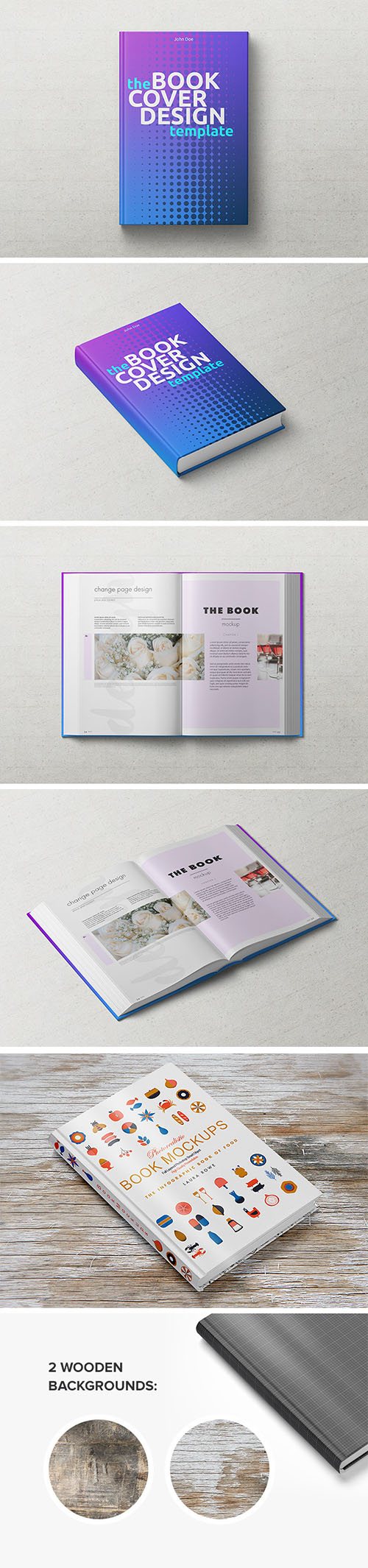 PSD Mock-Up's - Hardback Book 2016