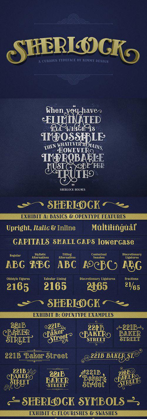 Sherlock Pro Font - otf