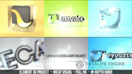 Simple 3D Logo - Project for After Effects (Videohive)