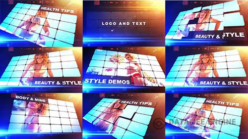 Style Grid - After Effects Template