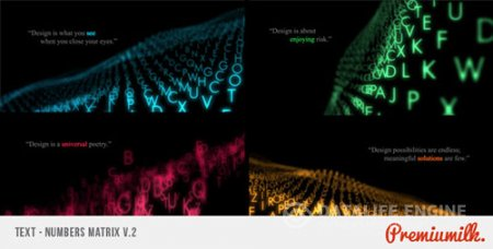 Text Matrix - Project for After Effects (Videohive)