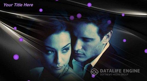 The dark violet tones - Project ProShow Producer