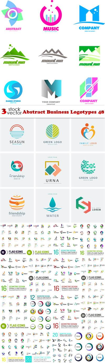 Vectors - Abstract Business Logotypes 48
