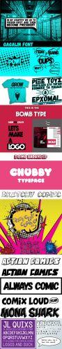 10 Comic Fonts for Artists & Designers