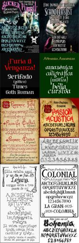 10 Historical Fonts TTF