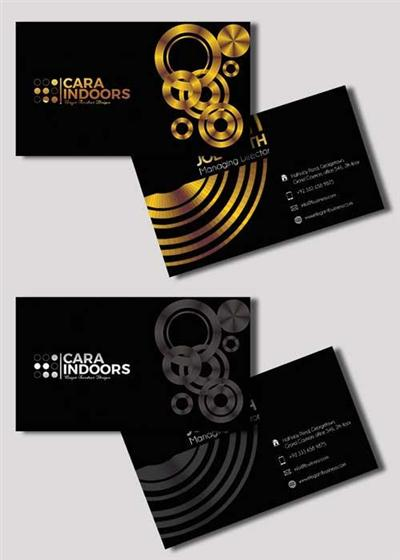 Business card V3 Premium PSD Template