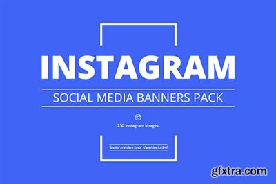 CreativeMarket Instagram Social Media Banners Pack 719322